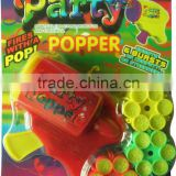 hot selling plastic confetti party popper gun