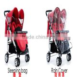 Baby stroller with footcover,raincover