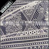 New products special design exquisite softextile lace fabric knitting by Changle factory