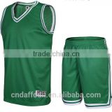 2016 cheap blank customized man neon green basketball wear basketball singlet basketball jersey