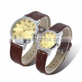 quartz movt pair style lover wrist watch couple watches with water resistant customer logo availible