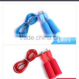 high quality hot sale fitness crossfit jump rope steel jump rope with foam