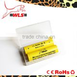 plastic case batteries to protect battery 18350 3.7v protected battery and 18650 battery case