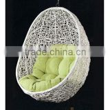 Hanging garden swing chairs single seat swing chair rattan hammock