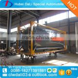 30 cubic meter aluminum alloy fuel tank trailer                                                                                                         Supplier's Choice