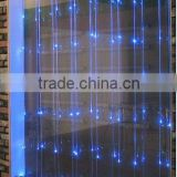 lighted graphic waterfall curtain