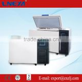 Medical vaccine refrigerator applied to freezing of red blood cells temperature range from -120 up to -150 degree DW-A5W258S