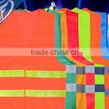 Red yellow orange vests Reflective vest Reflective work clothes