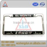 customized stainless steel license plate frame for number plate                                                                         Quality Choice