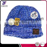 Fashion winter children wool felt knitted hats baby crocheted hats (Accept the design draft)