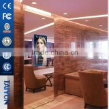 "32"" Bathroom And Restroom Lcd Mirror Advertising Display Magic Mirror Tv Digital Advertising Mirror With Motion Sensor"