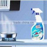 OEM Kitchen oil cleaner liquid with spray nozzle 500ml