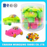 Car Shaped Toy with Press Candy/Gum
