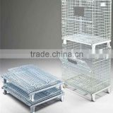 Alibaba hot sale heavy duty stackable wire mesh pallet cage                                                                         Quality Choice