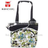 New fashion mode baby bags designer with shoulder pad,changing mat and stroller clips