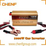 Hot Sell High Quality Portable Car inverter 1000W DC12V to AC220V Vehicle Car Inverter Converter Adapter