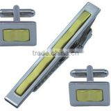 fashion metal tie clip&cufflink