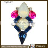Wholesale new design hot selling popular fashion crystal geometry brooch