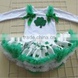 children clothing sets ,children long sleeve clothing sets for ST'patrick's day