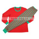 New Arrival Xmas Pajamas, Children cotton christmas sleepwear baby nightgown kids clothing sets