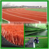 2014 Best quality running track artificial turf 2013 Best choice running track artificial turf grass floor carpet