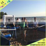 Popular Adult Beach Games Human Foosball Game, Inflatable Beach Game