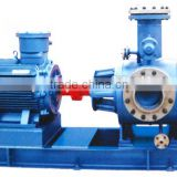 Two screw pump for marine fuel oil crude oil