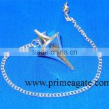 Silver Plated Double Point Pendulum For Sale | pendulum for dowsing | Metal Pendulum For Sale