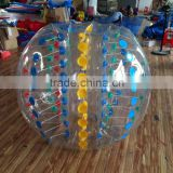 Human commercial inflatable bubble ball