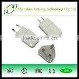 Wholesale High quality color single mobile phone travel charger, USB adaptor wall charger