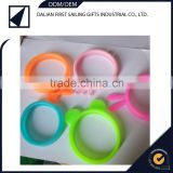 2015 New arrival 3d silicone phone case/bracelet/hair ring