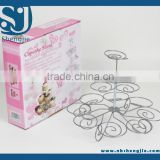 Trade Assurance Cupcake Stand for Patry Wholesale Wedding cupcake tree/tower cakes rack desert/fruit display stand