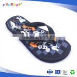 2017 fujian popular cheap wholesale popular footwear beach slippers rubber stripe flip flops casual shoes of little boys