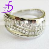 925 Silver Jewelry Set with CZ Stones Micro Pave Setting Wedding Jewelry engagement rings for men