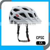 supply cheap CE CPSC ultralight pretty in mould men and lady MTB bike helmet with visor design OEM service