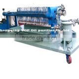 TOP Industrial High Efficient Waste Cooking Oil Cleaning Press Machine, Plate Oil Filter Press