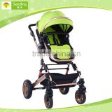 Baby stroller 2 in 1 china, aluminum alloy good fancy baby strollers wholesale