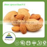 Well Selected Bitter Apricot Seed Almond Extract Powder with Amygdalin 98%