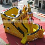 Hola pirate ship inflatable slide/inflatable water slide/giant inflatable slide for sale