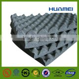 Egg crate shape acoustic foam 10mm Black Nitrile Rubber Foam Sheet