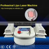 Express! RL-LIPO! digital therapy laser weight loss beauty machine at burning instrument
