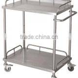 Hospital Stainless Steel Multiple size WN122 Instrument Trolley