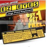 eyes large print keyboard