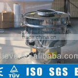 Rotary vibratory shaker for China clay powder