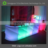 bases for centerpieces wedding mesas led para bar counter table/used nightclub furniture for sale table