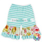 new top 100 little model girl shorts newborn baby clothes children wear stripe icing shorts ruffle shorts