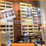 Modern Customized Wooden Coffee Shop Decor