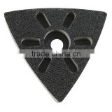 Multi-Tool Triangle Sanding Pad angle grinder sanding pads sanding pad for concrete hook and loop sanding pad