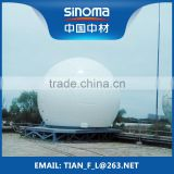 Inquiry About FRP GRP Fiberglass Radome Radar Cover for communication facility
