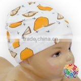 Lemon Print Newborn Baby Hat Soft Touch Stretchy Hats Fashion Kids Hats Made In China